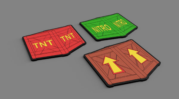 Crash Bandicoot™ Crate Coasters - merchandise by Rubber Road The Chelsea Gamer