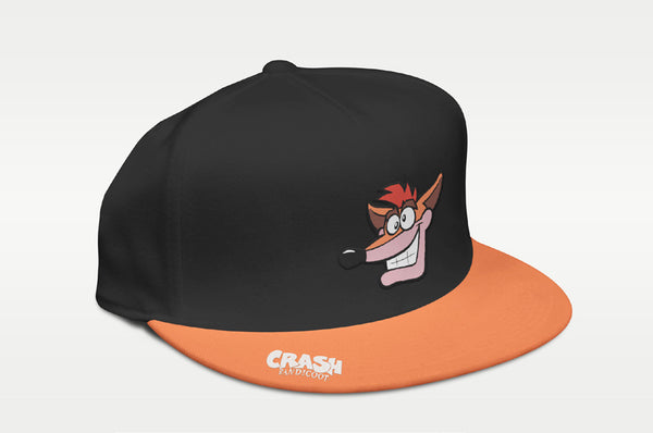 Crash Bandicoot™ Classic Snapback - merchandise by Rubber Road The Chelsea Gamer