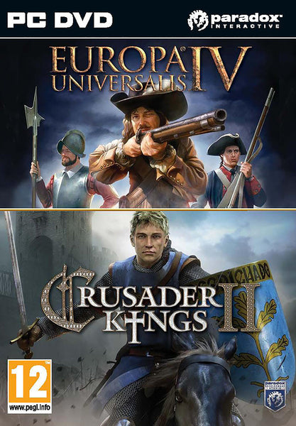 Crusader Kings II & Europa Universalis IV Twin Pack - PC - Video Games by Ikaron The Chelsea Gamer