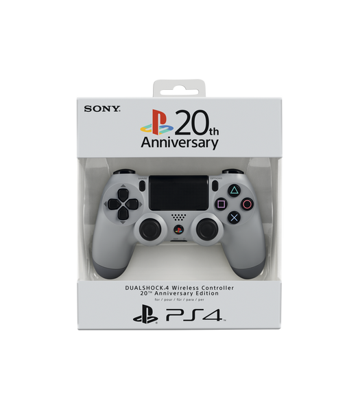 Sony DualShock 4 (V1) Controller - 20th Anniversary Edition - Console Accessories by Sony The Chelsea Gamer