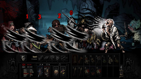 Darkest Dungeon: Ancestral Edition - Video Games by Merge Games The Chelsea Gamer