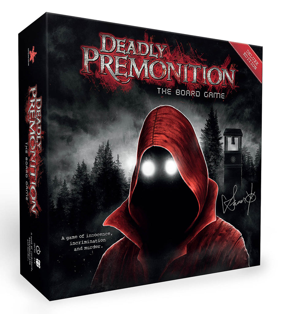Deadly Premonition The Board Game: Deluxe Edition (PC) - Video Games by Rising Star Games The Chelsea Gamer