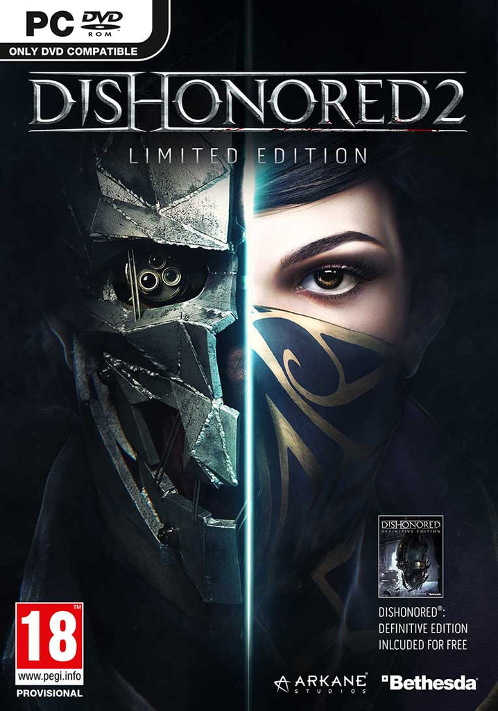 Dishonored 2 - PC - Limited Edition - Video Games by Bethesda The Chelsea Gamer