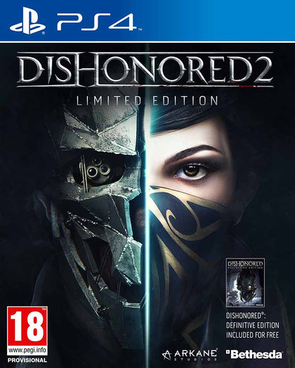 Dishonored 2 PS4 - Video Games by Bethesda The Chelsea Gamer