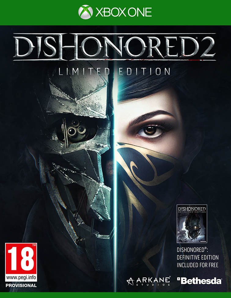 Dishonored 2 Xbox One - Video Games by Bethesda The Chelsea Gamer
