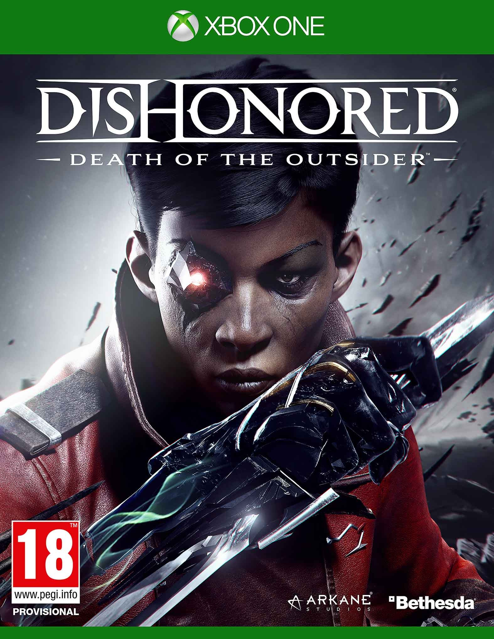 Dishonored: Death of the Outsider - Xbox One - Video Games by Bethesda The Chelsea Gamer