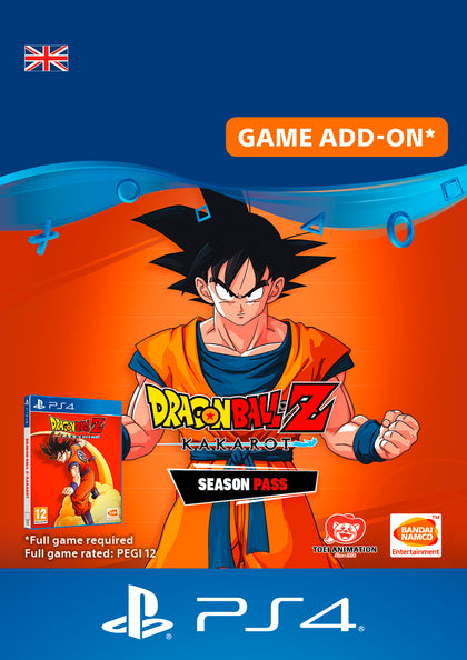 Dragon Ball Z : Kakarot Season Pass for PlayStation 4