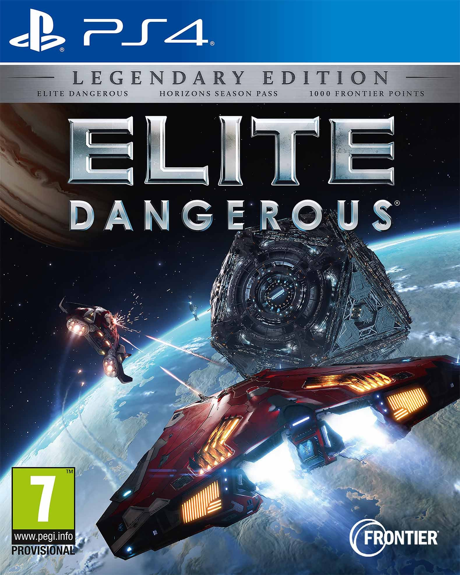 Elite Dangerous Legendary Edition - PS4 - Video Games by Sold Out The Chelsea Gamer