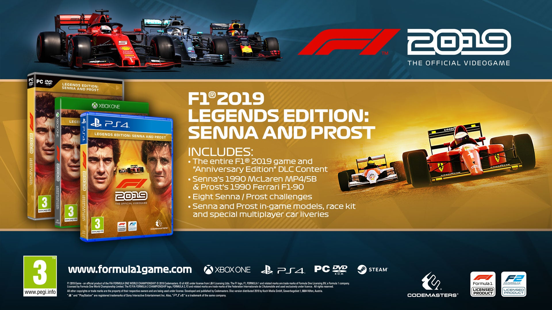 F1 2019 - Legends Edition