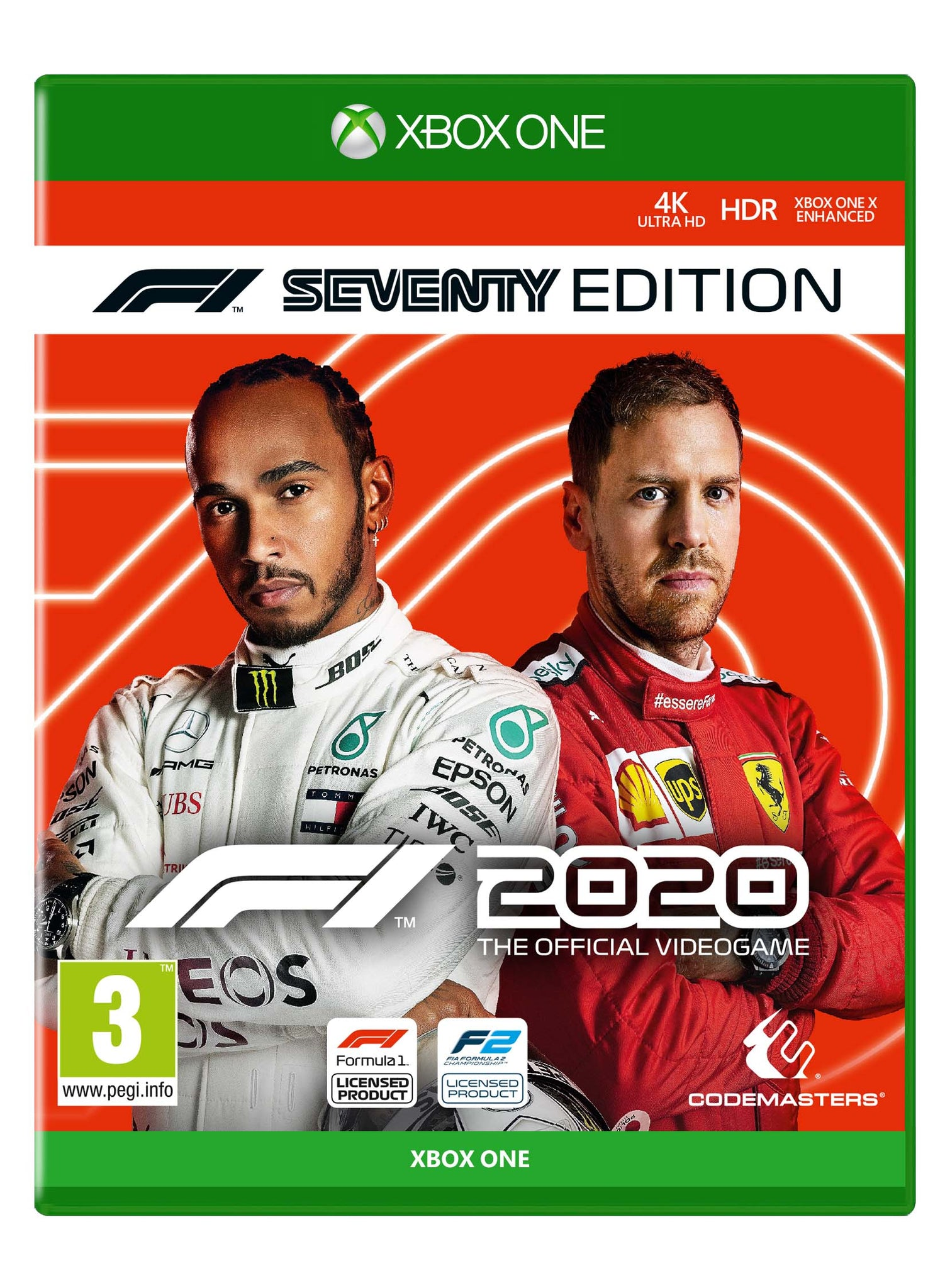 F1® 2020 The Official Video Game - Seventy Edition