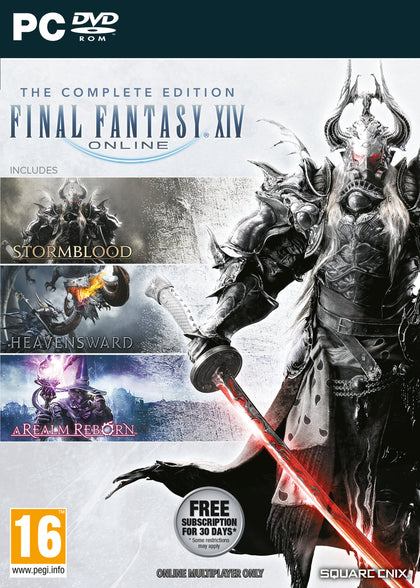 Final Fantasy XIV Online Complete Edition (PC) - Video Games by Square Enix The Chelsea Gamer
