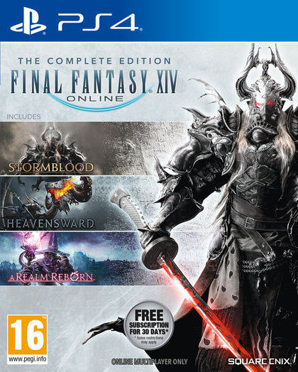 Final Fantasy XIV Online Complete Edition (PS4) - Video Games by Square Enix The Chelsea Gamer