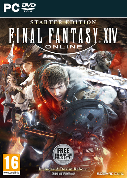 Final Fantasy XIV Online Starter Edition (PC) - Video Games by Square Enix The Chelsea Gamer