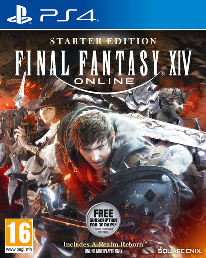 Final Fantasy XIV Online Starter Edition (PS4) - Video Games by Square Enix The Chelsea Gamer