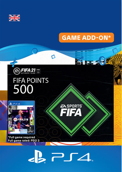 FIFA 21 FUT Points for Sony PlayStation 4
