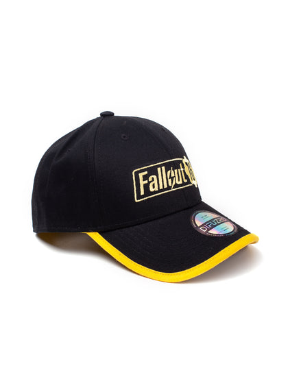 Fallout 76 Logo Adjustable Yellow Cap
