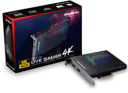 AverMedia Live Gamer 4K - Core Components by AverMedia The Chelsea Gamer