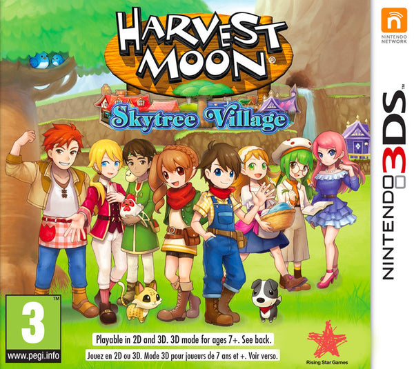 Harvest Moon: Skytree Village - 3DS - Video Games by Rising Star Games The Chelsea Gamer