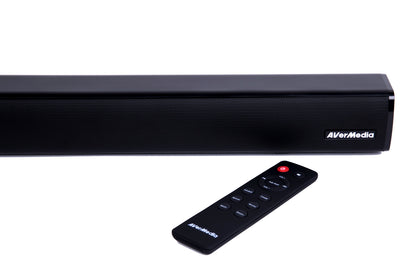 AVerMedia GS331 Sonicblast 40W 2.0 Channel Low Profile Soundbar
