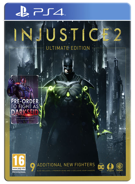 Injustice 2 - PS4 - Ultimate Edition - Video Games by Warner Bros. Interactive Entertainment The Chelsea Gamer