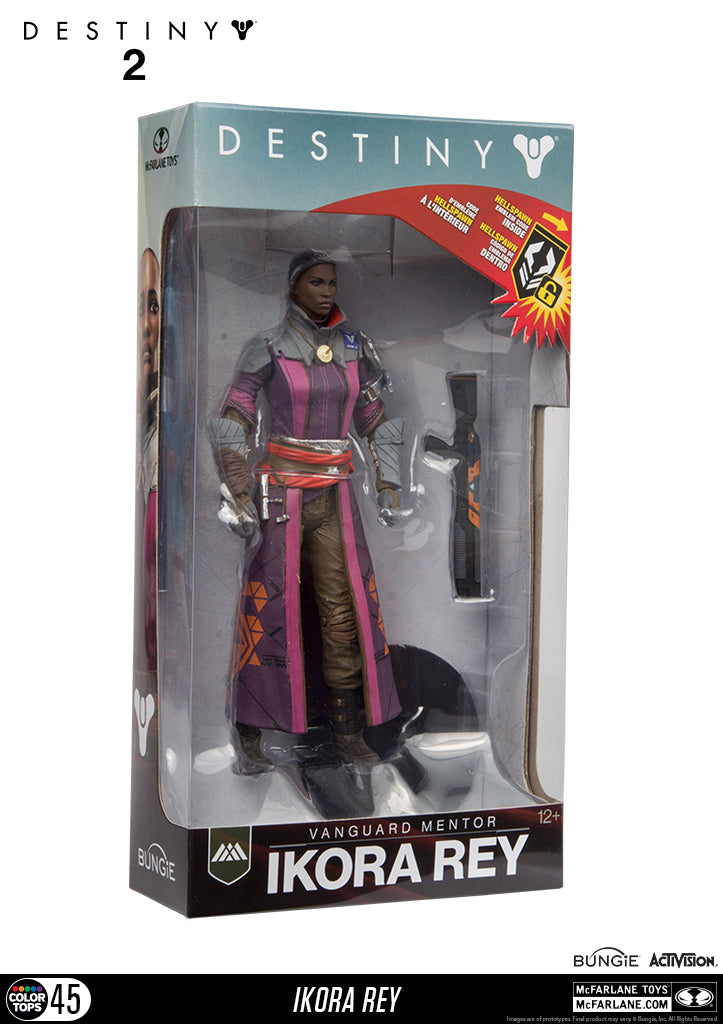 Destiny -  Ikora Rey Action Figure, 18cm - merchandise by MacFalane The Chelsea Gamer