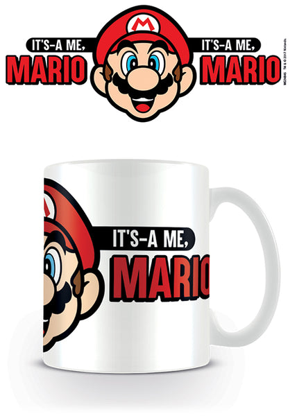 Super Mario Its A Me Mario Coffee Mug, Ceramic