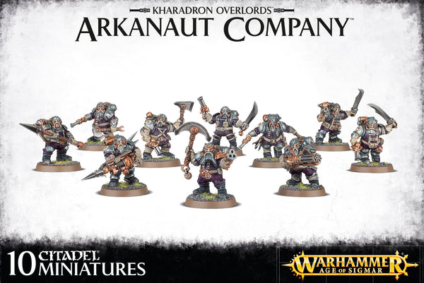 Arkanaut Company - Model Play by Games Workshop The Chelsea Gamer