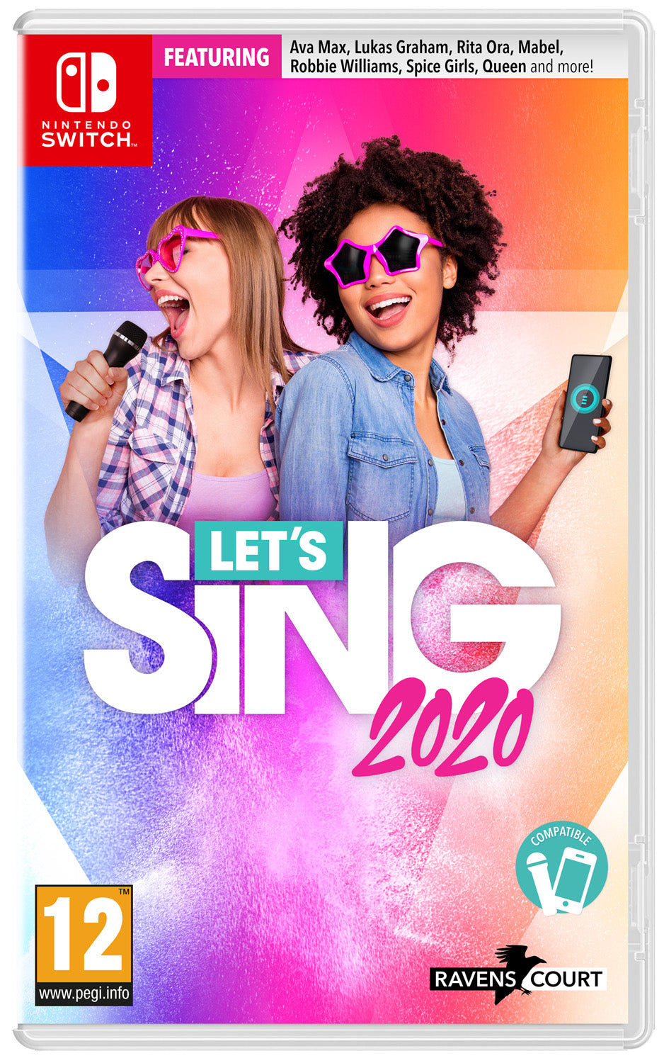 Lets Sing 2020 & Microphone