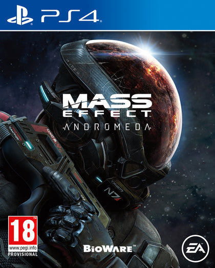 Mass Effect Andromeda PS4 - Video Games by Electronic Arts The Chelsea Gamer