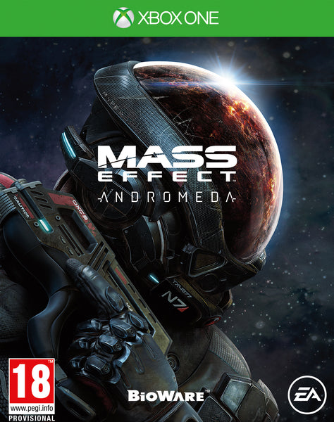 Mass Effect Andromeda Xbox One - Video Games by Electronic Arts The Chelsea Gamer