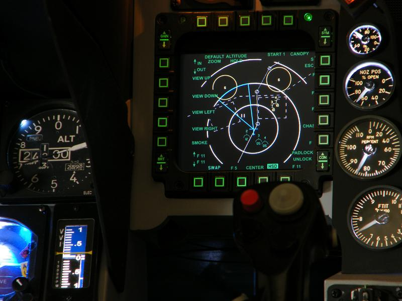 Thrustmaster Replica U.S Air Force MFD Cougar Flight Panel Duo Pack