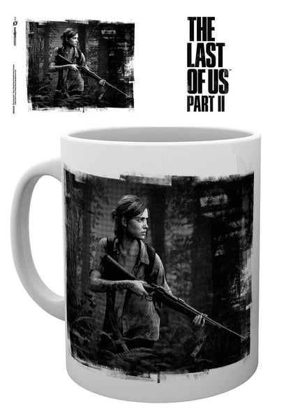 The Last of Us Part II - Black and white - Ellie