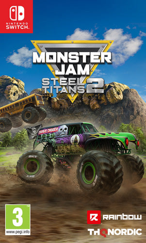 Monster Jam Steel Titans 2 - Nintendo Switch