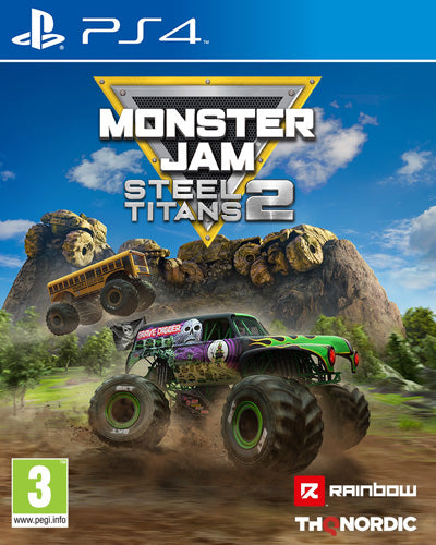 Monster Jam Steel Titans 2 - PlayStation