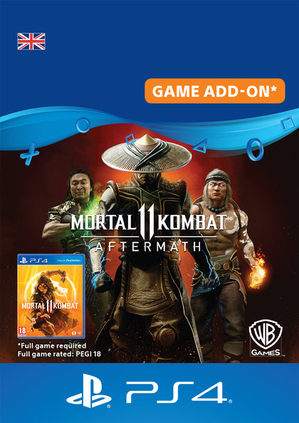 Mortal Kombat 11 : Aftermath - DLC