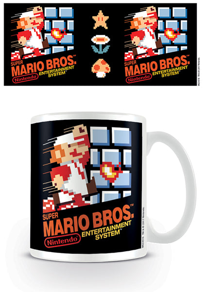Pyramid International Super Mario (Nes Cover) Official Boxed Ceramic Coffee/Tea Mug