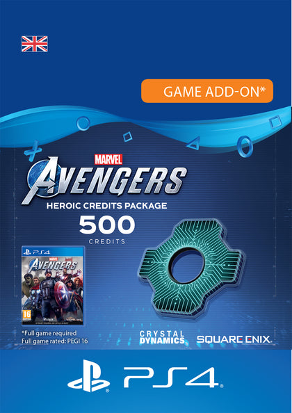Marvel's Avengers Credit Packs for PlayStation 4