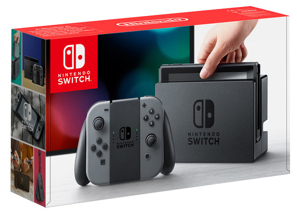 Nintendo Switch : GREY - Console pack by Nintendo The Chelsea Gamer