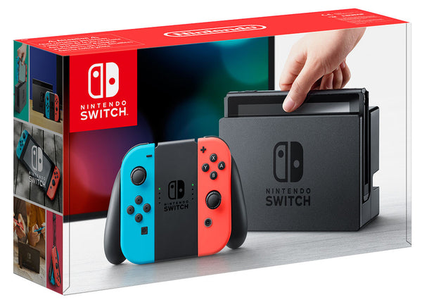 Nintendo Switch : Neon Red Neon Blue - Console pack by Nintendo The Chelsea Gamer