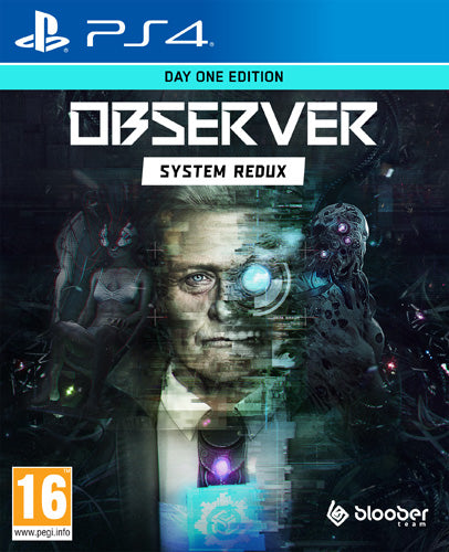 Observer System Redux - Day One Edition - PlayStation 4