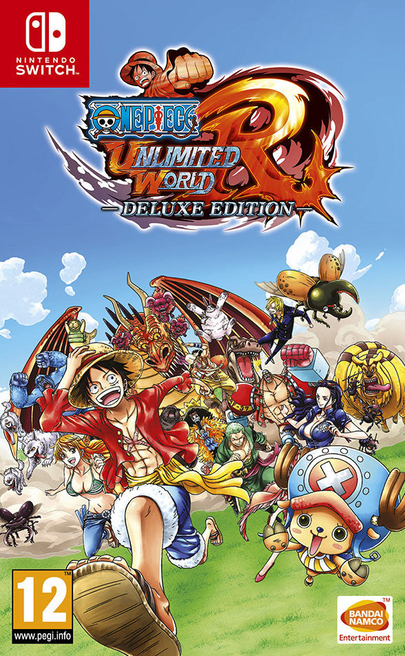 One Piece Unlimited World Red Deluxe Edition - Nintendo Switch