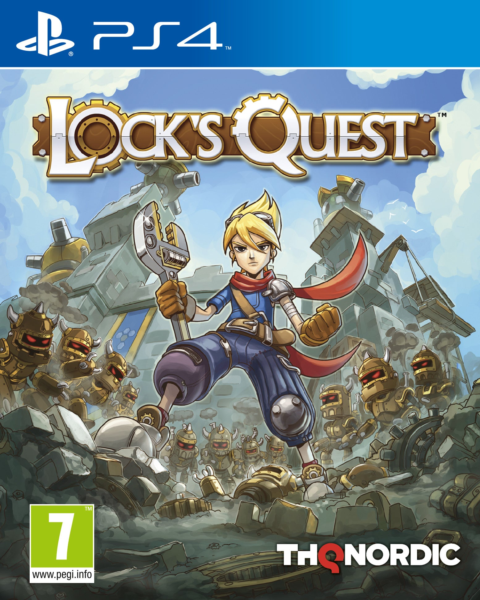 Lock's Quest - PS4 - Video Games by Nordic Games The Chelsea Gamer