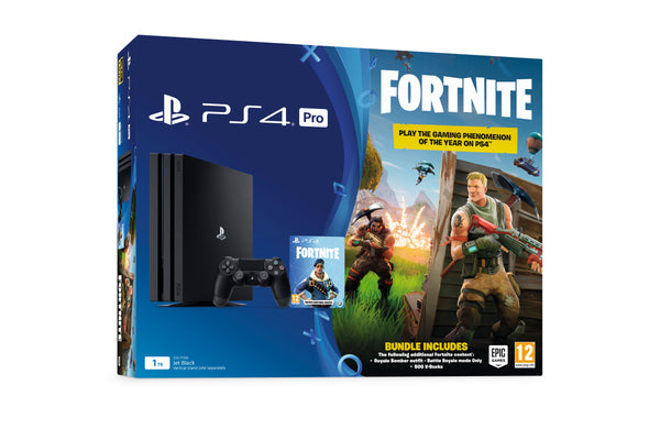 Sony PlayStation 4 PRO - 1TB - Fortnite Bomber Pack