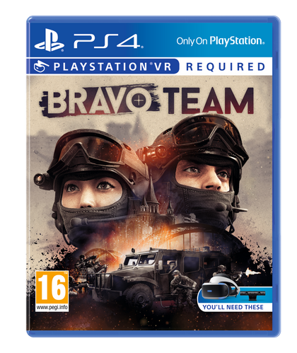 Bravo Team - With Arm Controller - for PlayStation VR - Video Games by Sony The Chelsea Gamer