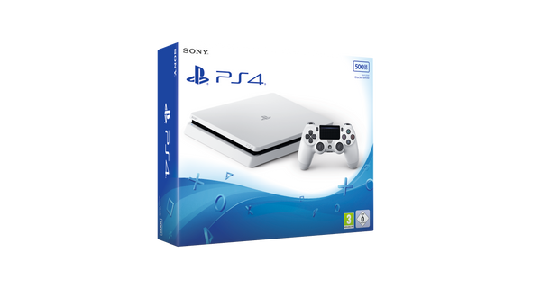 Sony PlayStation 4 - Slim 500GB - White - Console pack by Sony The Chelsea Gamer