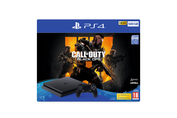 Call of Duty: Black Ops 4 500GB PlayStation 4 Bundle - Console pack by Sony The Chelsea Gamer