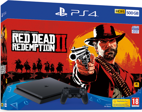 Red Dead Redemption PlayStation 4 bundle - 500GB