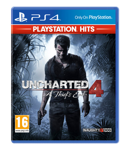 Uncharted 4 - PlayStation Hits