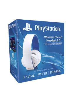 Sony PlayStation 2.0 Wireless Headset - White