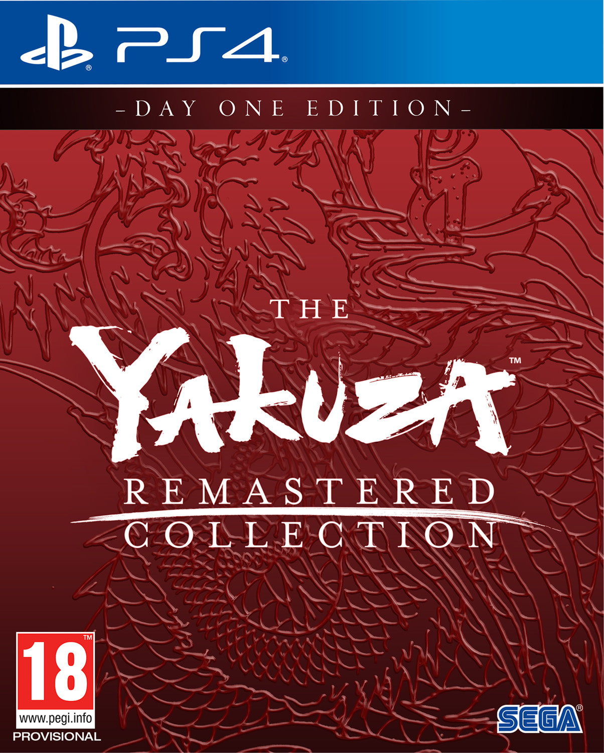 Yakuza Remastered Collection - Day One Edition